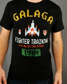 Galaga Fighter T Shirt Sheer