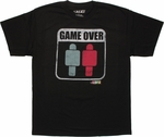 Game of Life Game Over T Shirt