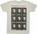 Game of Thrones Expressions of Sandor T Shirt Sheer