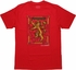 Game of Thrones Lannister Stained Glass T Shirt Sheer