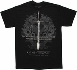 Game of Thrones Pass Sentence Swing Sword T Shirt