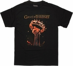 Game of Thrones Raised Crown T Shirt