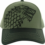 Game of Thrones Stark Gray Hat