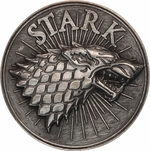 Game of Thrones Stark Insignia Buckle