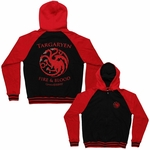 Game of Thrones Targaryen Sigil Hoodie