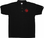Game of Thrones Targaryen Sigil Polo Shirt