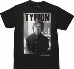Game of Thrones Tyrion Photo T Shirt