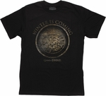 Game of Thrones Winter Shield T Shirt Sheer