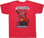 Garbage Pail Kids Mick Dagger T Shirt Sheer