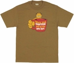 Garfield Coffee T Shirt