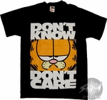 Garfield Don't Care T-Shirt