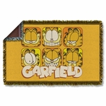 Garfield Faces Throw Blanket