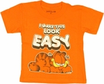 Garfield Look Easy Toddler T Shirt