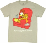 Garfield Occupy Couch T Shirt