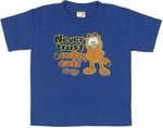Garfield Show Smiling Juvenile T Shirt