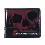 Gears of War Glossy Skull Wallet