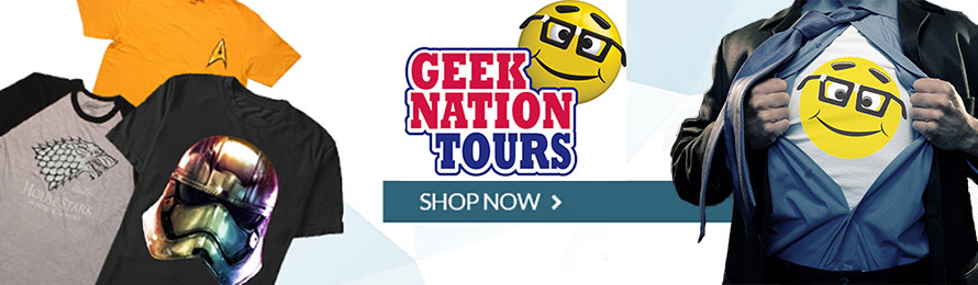 Geek Nation Tours Store