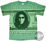Gene Simmons Green T-Shirt