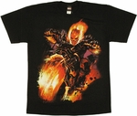 Ghost Rider Bike T Shirt