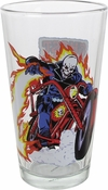 Ghost Rider Bike Toon Tumbler Pint Glass
