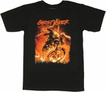 Ghost Rider Chains T Shirt