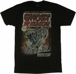 Ghost Rider Wanted T Shirt Sheer