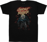 Ghost Rider Zodiac T-Shirt Sheer