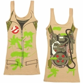 Ghostbusters Costume Tank Top Dress