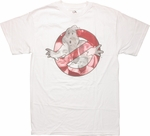 Ghostbusters Faces In Logo T Shirt
