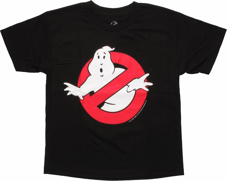 Ghostbusters Glow Logo Youth T Shirt