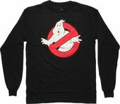 Ghostbusters Logo Long Sleeve T Shirt