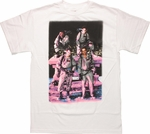 Ghostbusters Roof Group Photo T Shirt