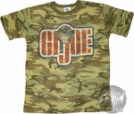 GI Joe Camo T-Shirt Sheer