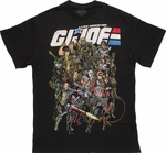 GI Joe Classic Group T Shirt