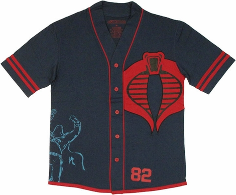 GI Joe Cobra Baseball Jersey