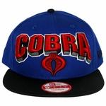 GI Joe Cobra Block Name Hat