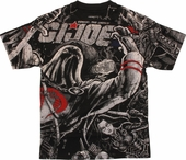 GI Joe Cobra Collage All Over T Shirt