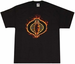 GI Joe Cobra Flame Logo T-Shirt
