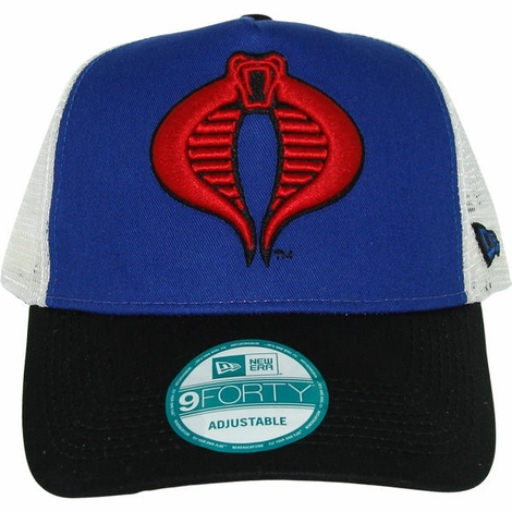 GI Joe Cobra Logo Mesh Hat