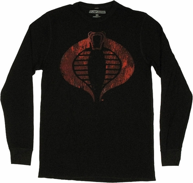GI Joe Cobra Thermal Long Sleeve T Shirt