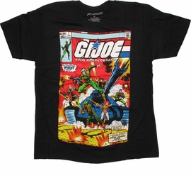 GI Joe First Issue Cover T Shirt Sheer