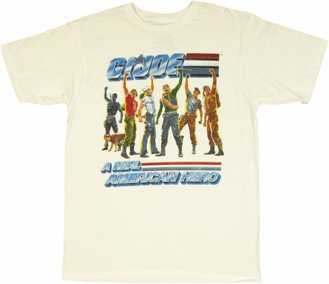 GI Joe Good Cheer T Shirt Sheer