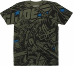 GI Joe Inked Heroes All Over T Shirt