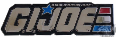 GI Joe Name Buckle