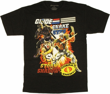 GI Joe Ninjas T Shirt Sheer