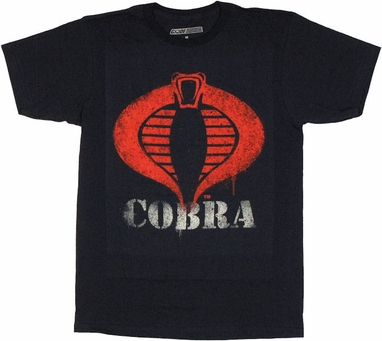 GI Joe Painted Cobra T Shirt Sheer