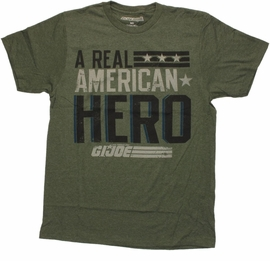 GI Joe Real American Hero T Shirt Sheer