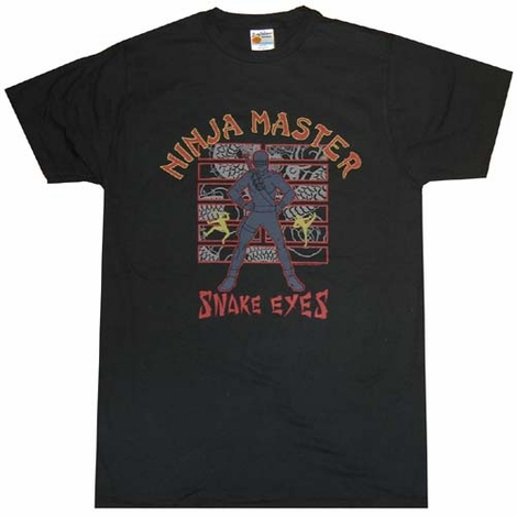 GI Joe Snake Eyes T-Shirt Sheer
