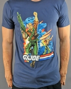 GI Joe Team T Shirt Sheer