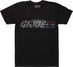GI Joe Vintage Distressed Logo T-Shirt